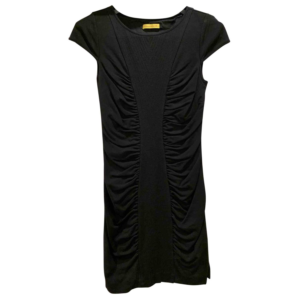 Catherine Malandrino - Robe   pour femme en laine - noir