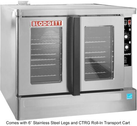 Zephaire-100-G-ES RIS Zephaire Series Energy Star Standard Depth Gas Convection Oven with Rigid Insulation  Porcelain Liner  Dependent and Heavy Duty
