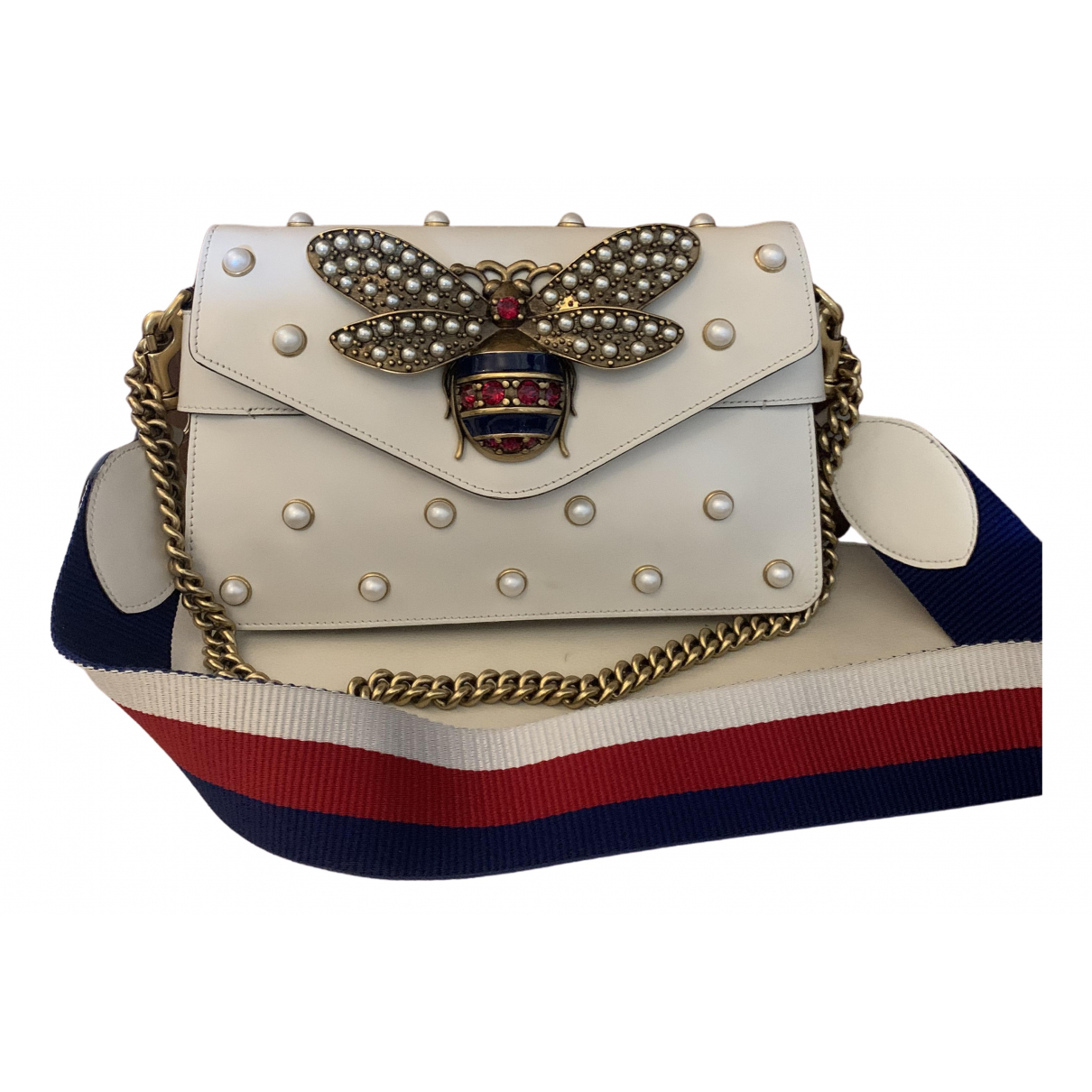 Gucci Broadway White Leather handbag for Women \N