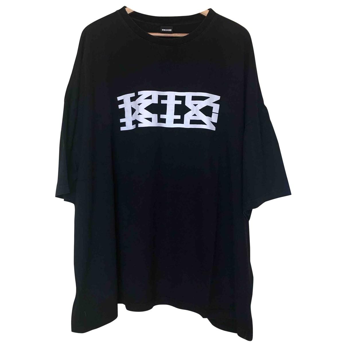 Ktz - Tee shirts   pour homme en coton - noir