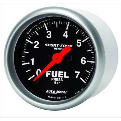 Auto Meter Sport-Comp Electric Fuel Pressure Gauge - 3363-M