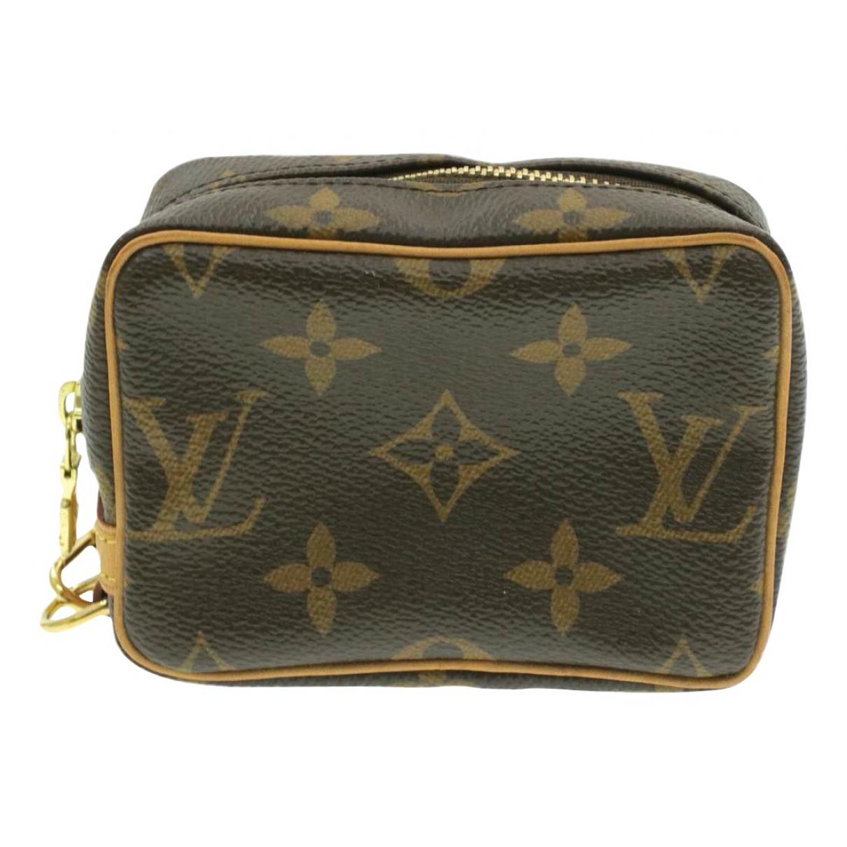 Louis Vuitton Wapity Brown Cloth Clutch bag for Women N