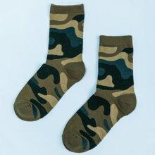 Socken mit Camo Muster