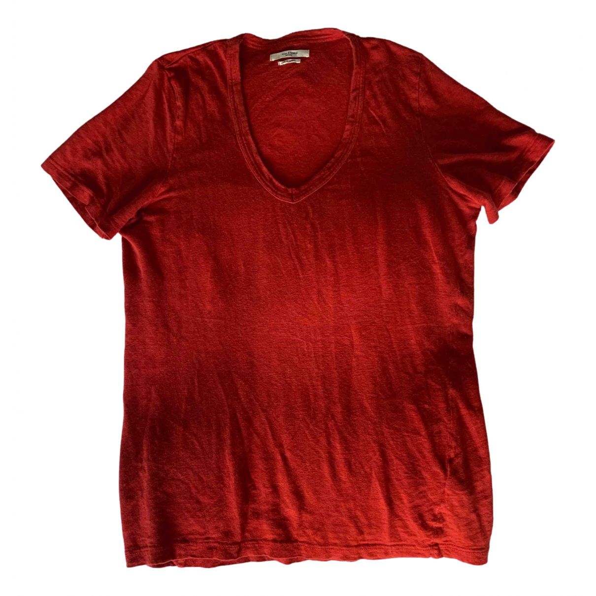 Isabel Marant Etoile N Red Cotton  top for Women M International