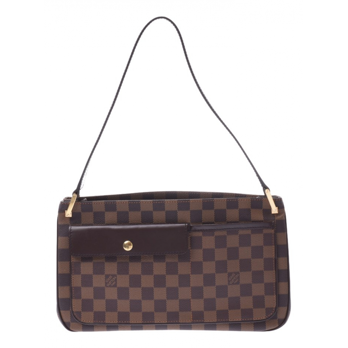 Louis Vuitton Aubagne Brown Cloth handbag for Women N