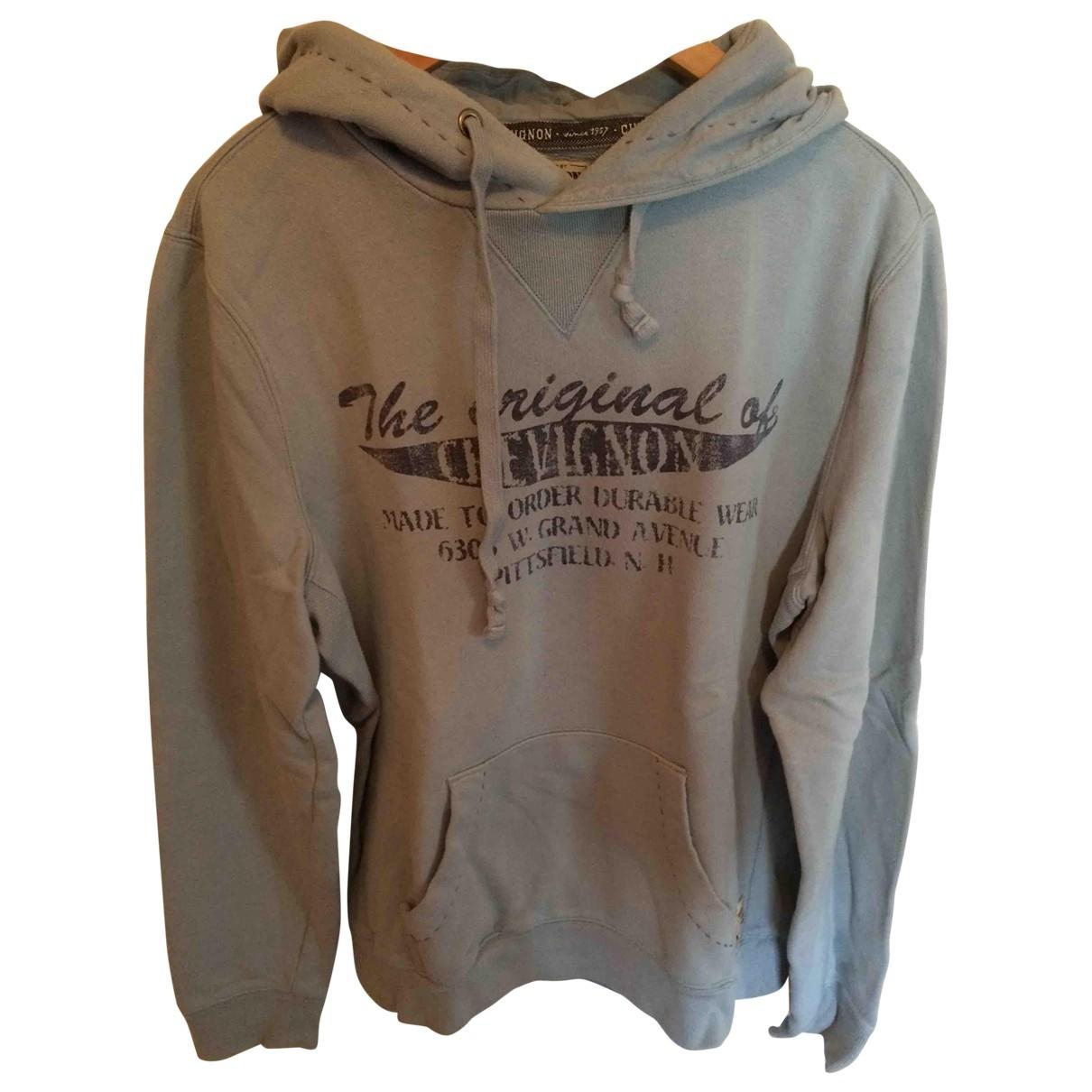 Chevignon \N Pullover.Westen.Sweatshirts  in  Blau Baumwolle