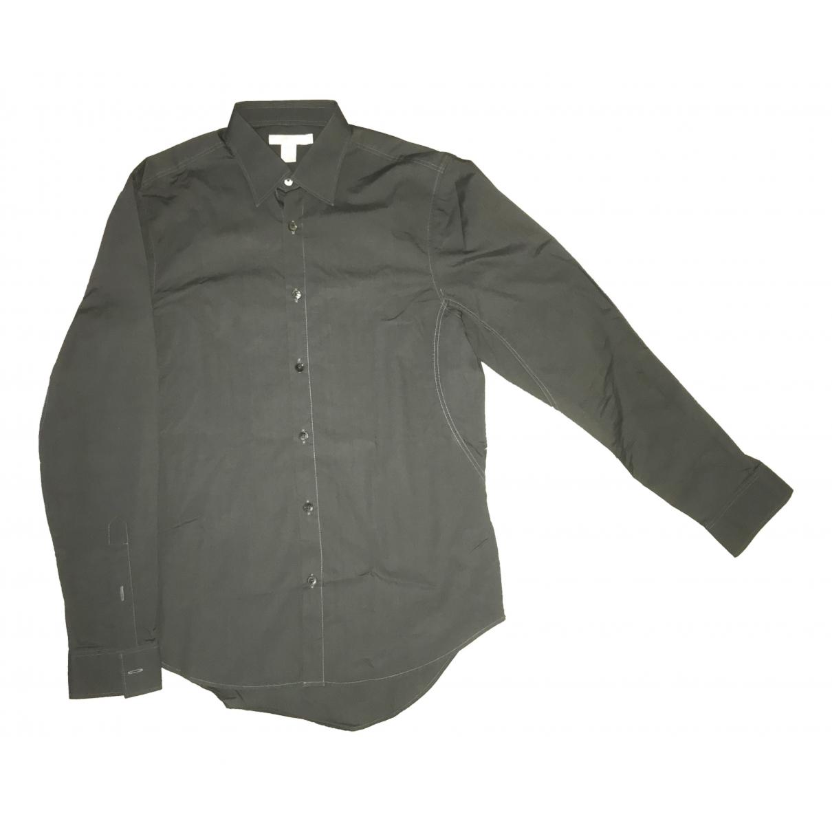 Adidas - Chemises   pour homme en coton - anthracite