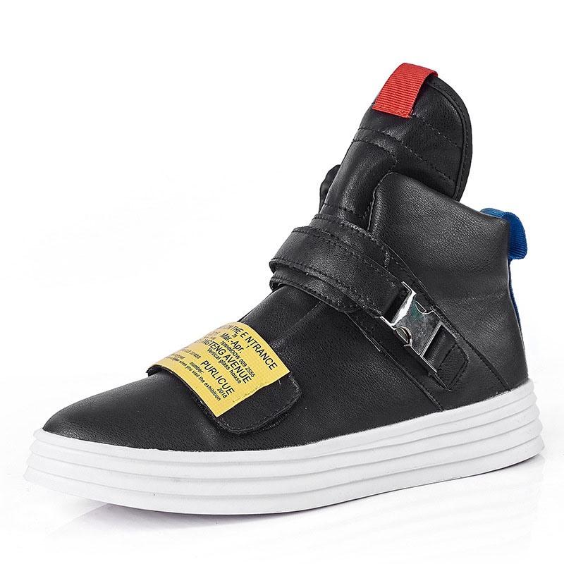 Ericdress Color Block High-Cut Upper Men's Skate Shoes