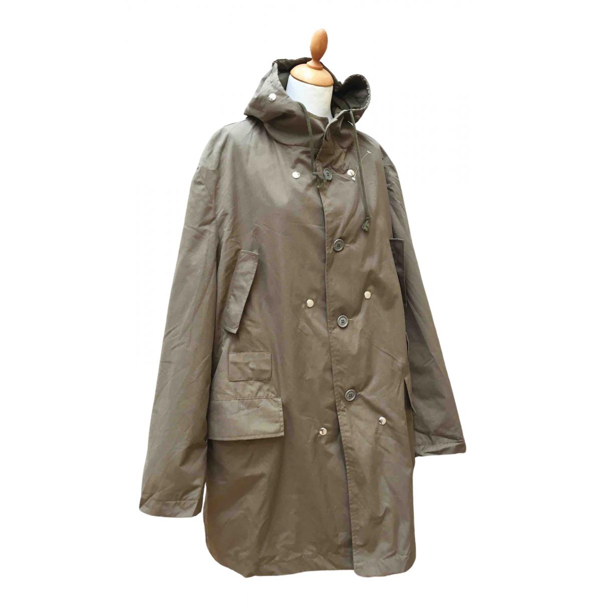 - Manteau Oversize pour homme en coton - vert