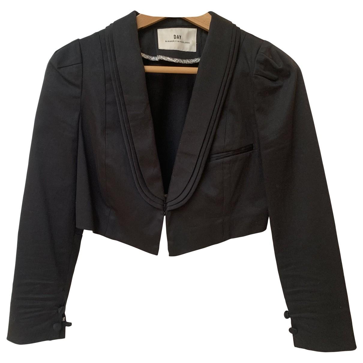 Day Birger & Mikkelsen - Veste   pour femme en coton - noir
