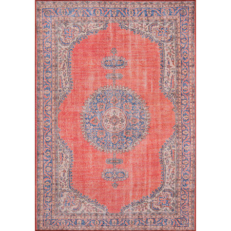 Momeni Afshar 12 Rectangular Indoor Rugs, One Size , Red
