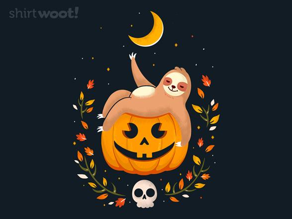 Lazy Halloween T Shirt