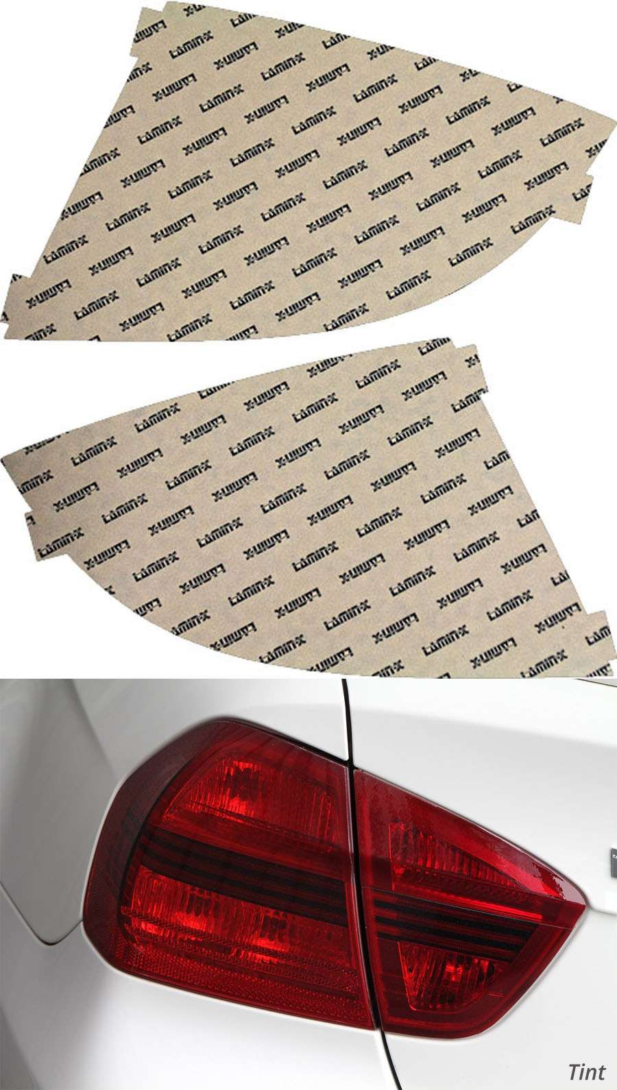 Chevrolet Cobalt Sedan 05-10 Tint Tail Light Covers Lamin-X CH316T