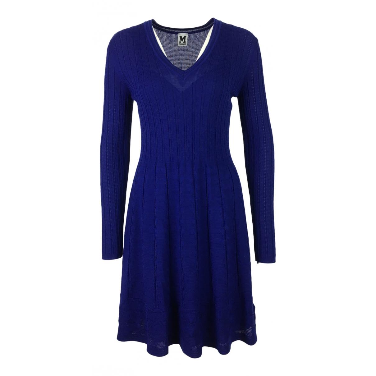 M Missoni \N Blue Wool dress for Women 40 IT