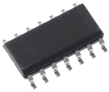 ON Semiconductor UC3842BDG, PWM Current Mode Controller, 1 A, 500 kHz, 36 V, 14-Pin SOIC (55)