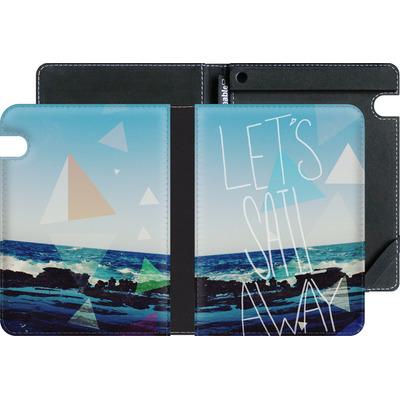 Amazon Kindle Voyage eBook Reader Huelle - Lets Sail Away von Leah Flores