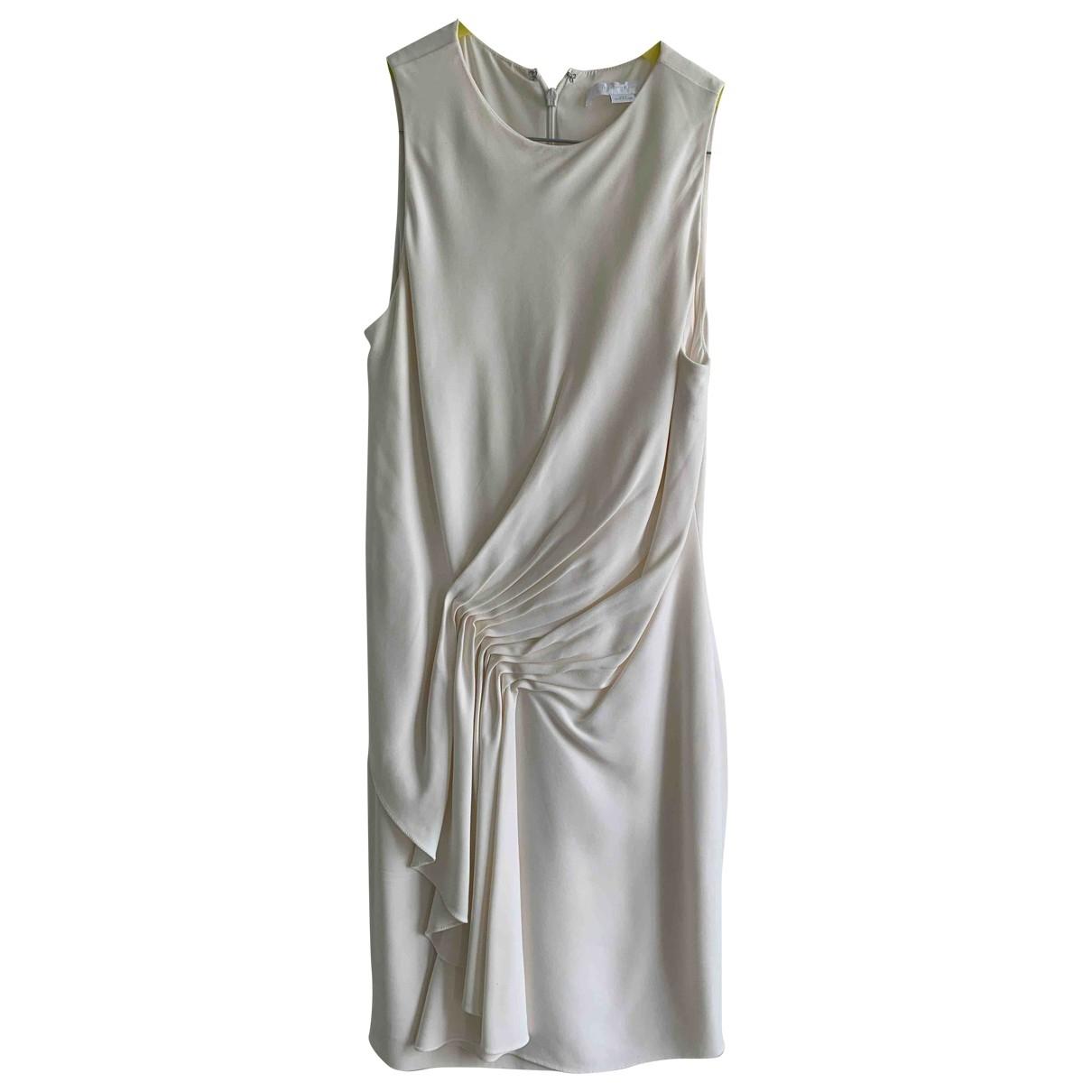 Alexander Wang \N Kleid in  Ecru Baumwolle