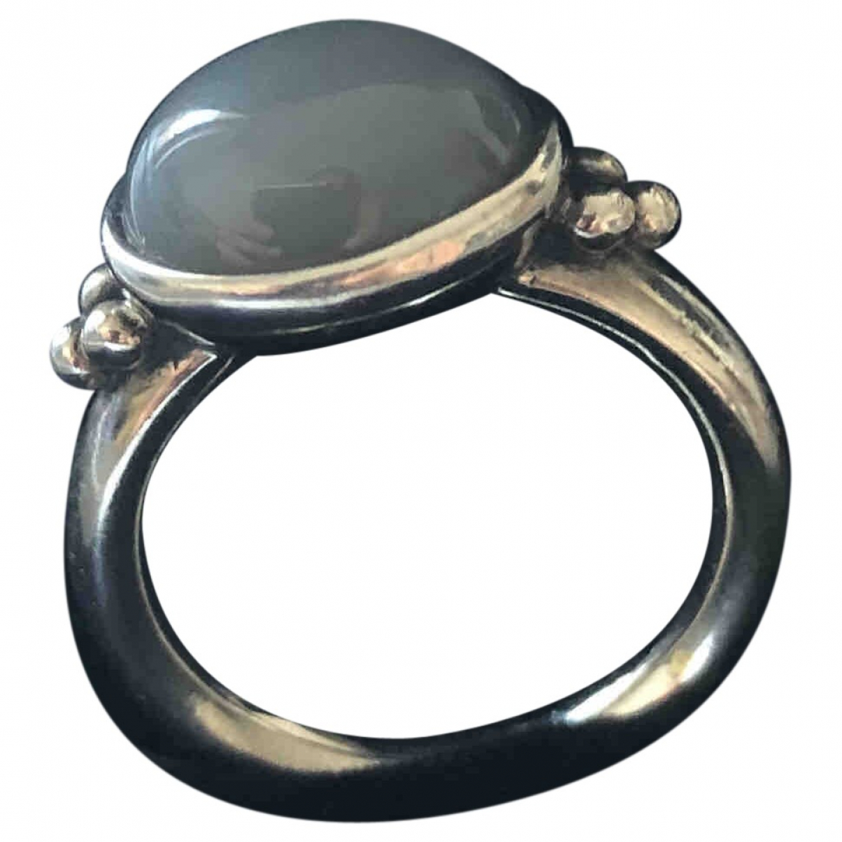 Pandora \N Ring in  Grau Silber