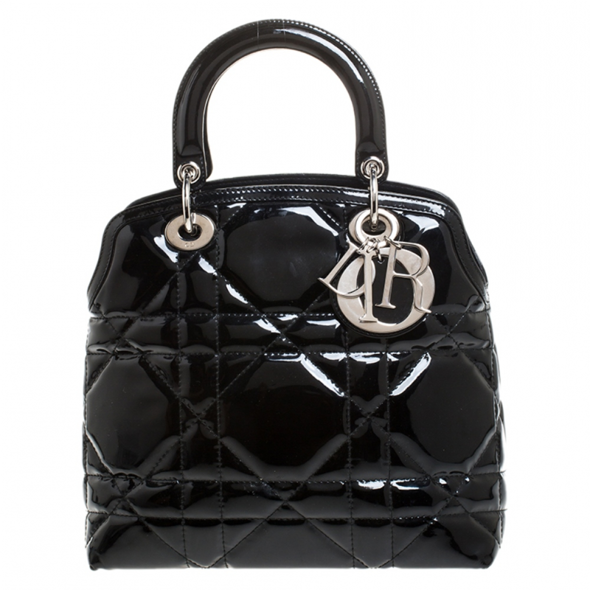 Dior N Black Patent leather handbag for Women N