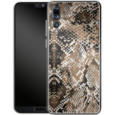Huawei P20 Pro Silikon Handyhuelle - Snakeskin von caseable Designs