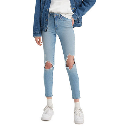 Levi's 721 Skinny Ankle Jeans, 32 , Blue