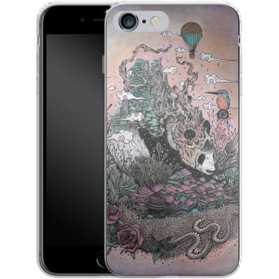 Apple iPhone 6s Plus Silikon Handyhuelle - Land Of The Sleeping Giant von Mat Miller