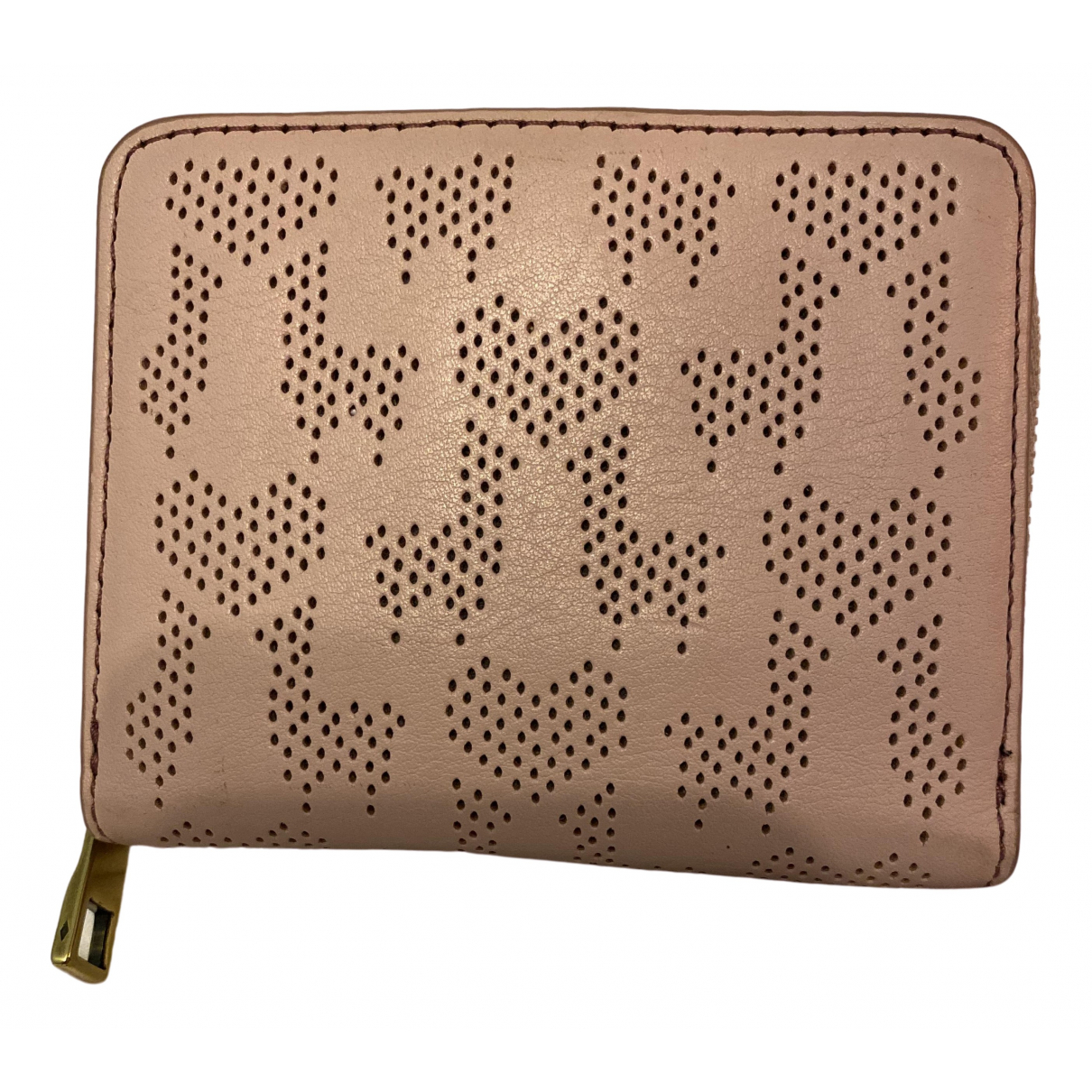 Fossil \N Pink Leather Purses, wallet & cases for Women \N