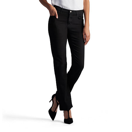 Lee Relaxed Fit Straight Leg Jeans - Tall, 12 Tall , Black