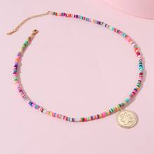 Toddler Girls Round Beaded Necklace