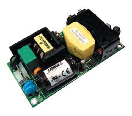 TDK-Lambda , 60W Embedded Switch Mode Power Supply SMPS, 24V dc, Open Frame