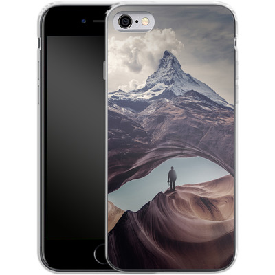 Apple iPhone 6s Silikon Handyhuelle - The Great Outdoors von Enkel Dika