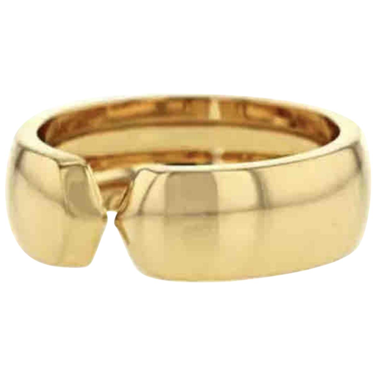 Anillo C de Oro amarillo Cartier