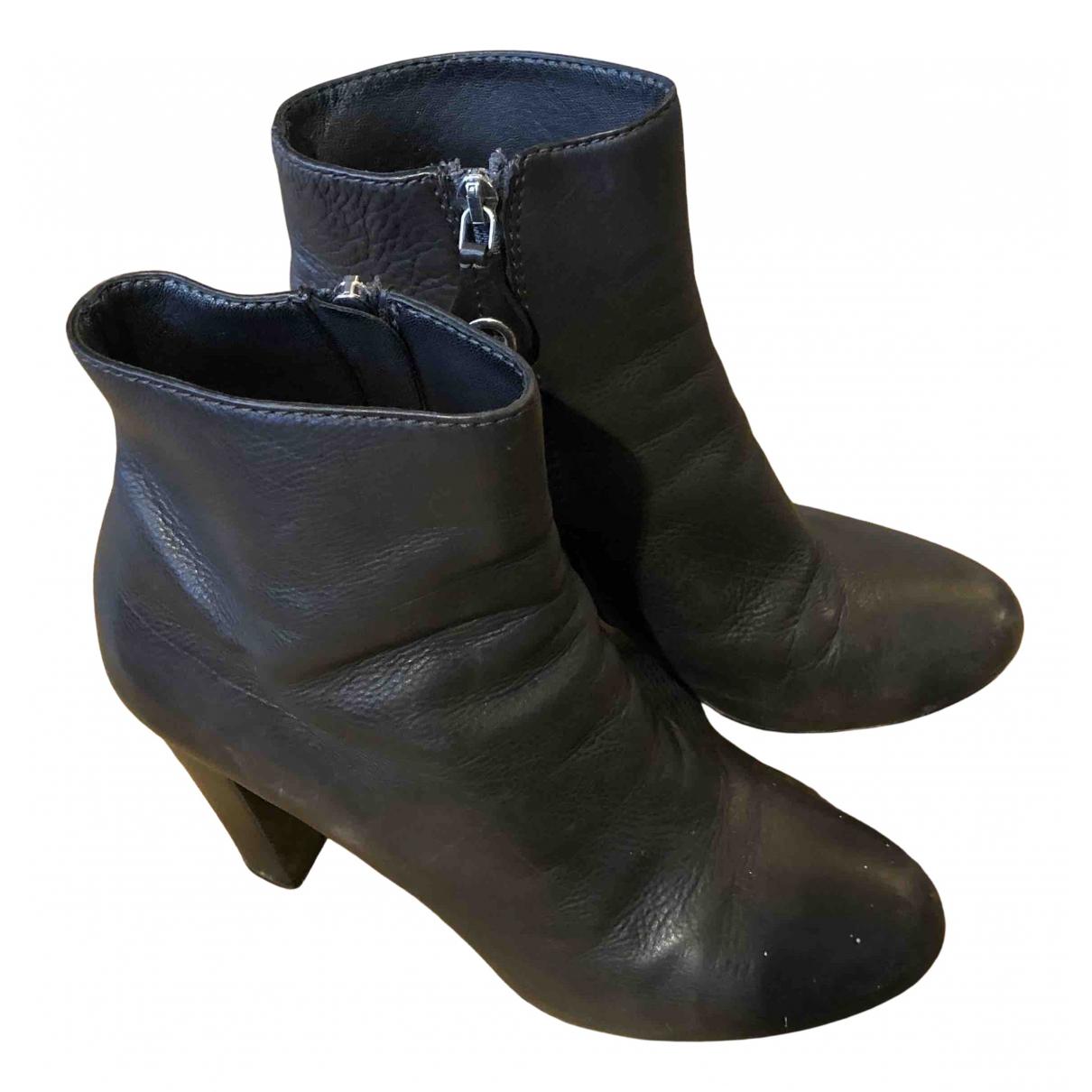 Beoriginal - Bottes   pour femme en cuir - marron
