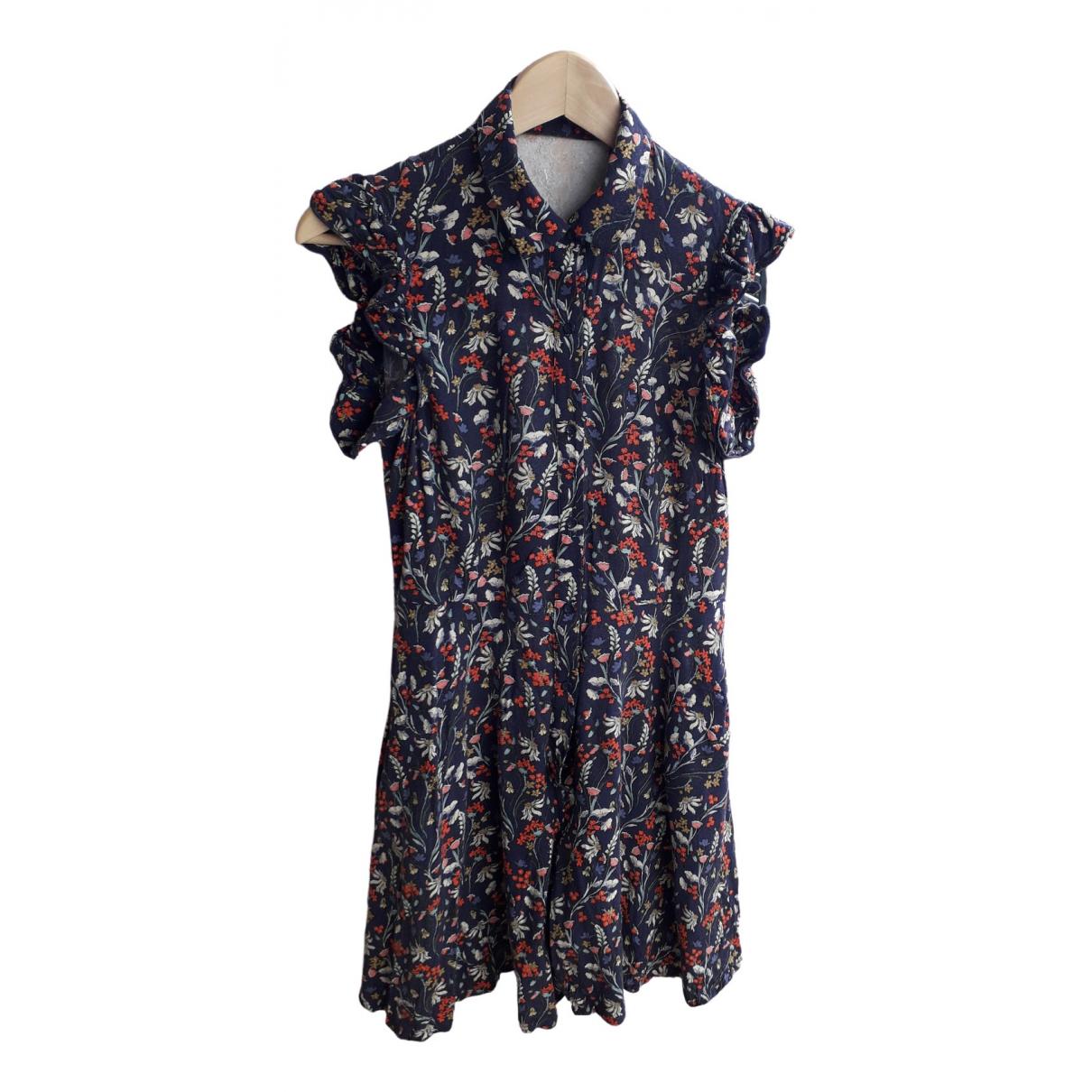 Zara - Combinaison   pour femme en coton - bleu
