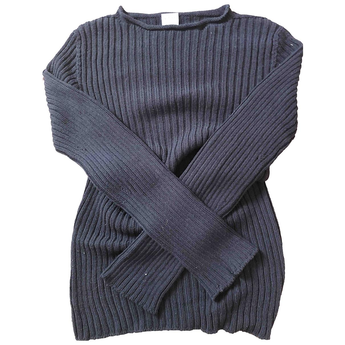 Armani Collezioni - Pulls.Gilets.Sweats   pour homme en coton - bleu