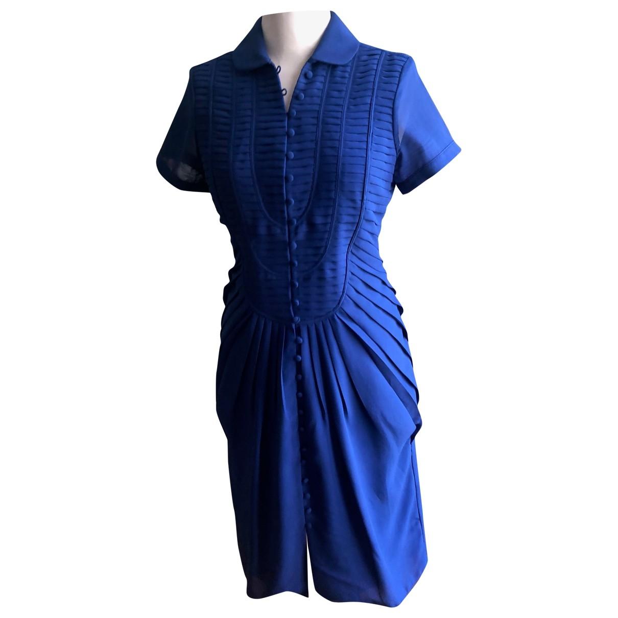 Les Petites \N Kleid in  Blau Polyester