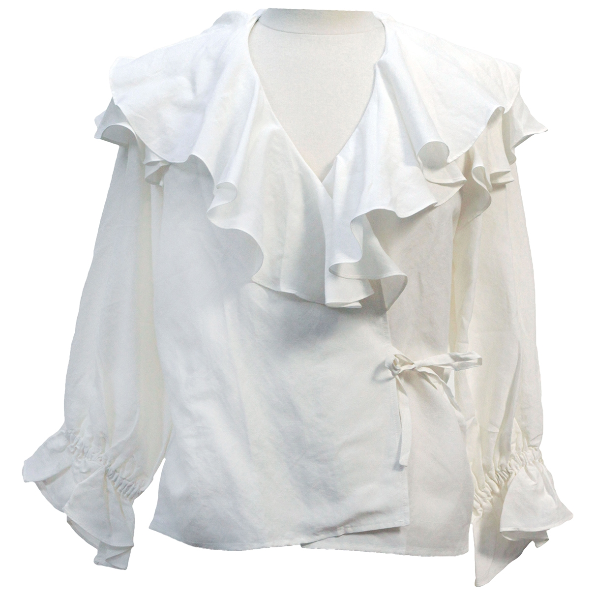 Rejina Pyo \N White Linen  top for Women S International