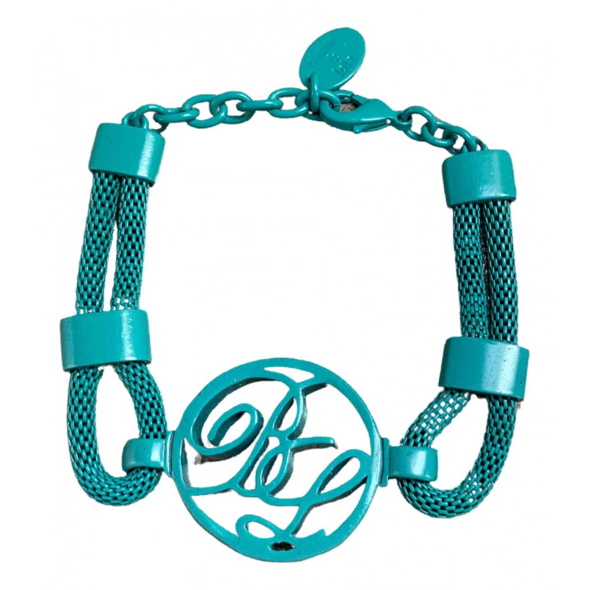 Bimba Y Lola - Bracelet   pour femme en metal - turquoise
