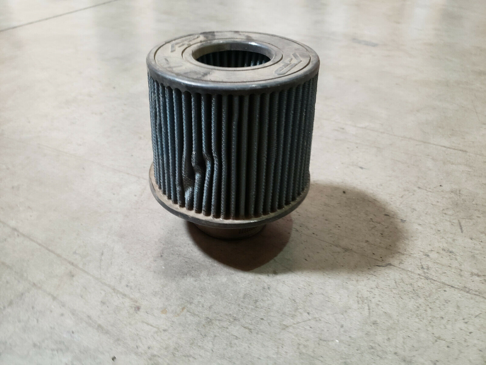 Agency Power 392904196000 Universal Dry Air Filter - 2.5in Inlet 5.5in Diameter 6.5in Length CLEARANCE