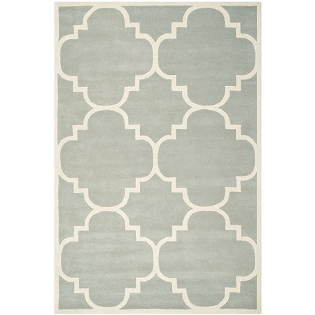 Safavieh Lucina Geometric Hand Tufted Wool Rug, One Size , Gray