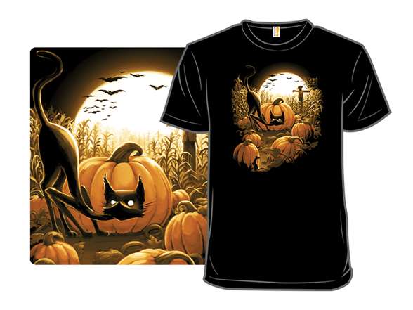 Caught In The Spooky Patch T Shirt