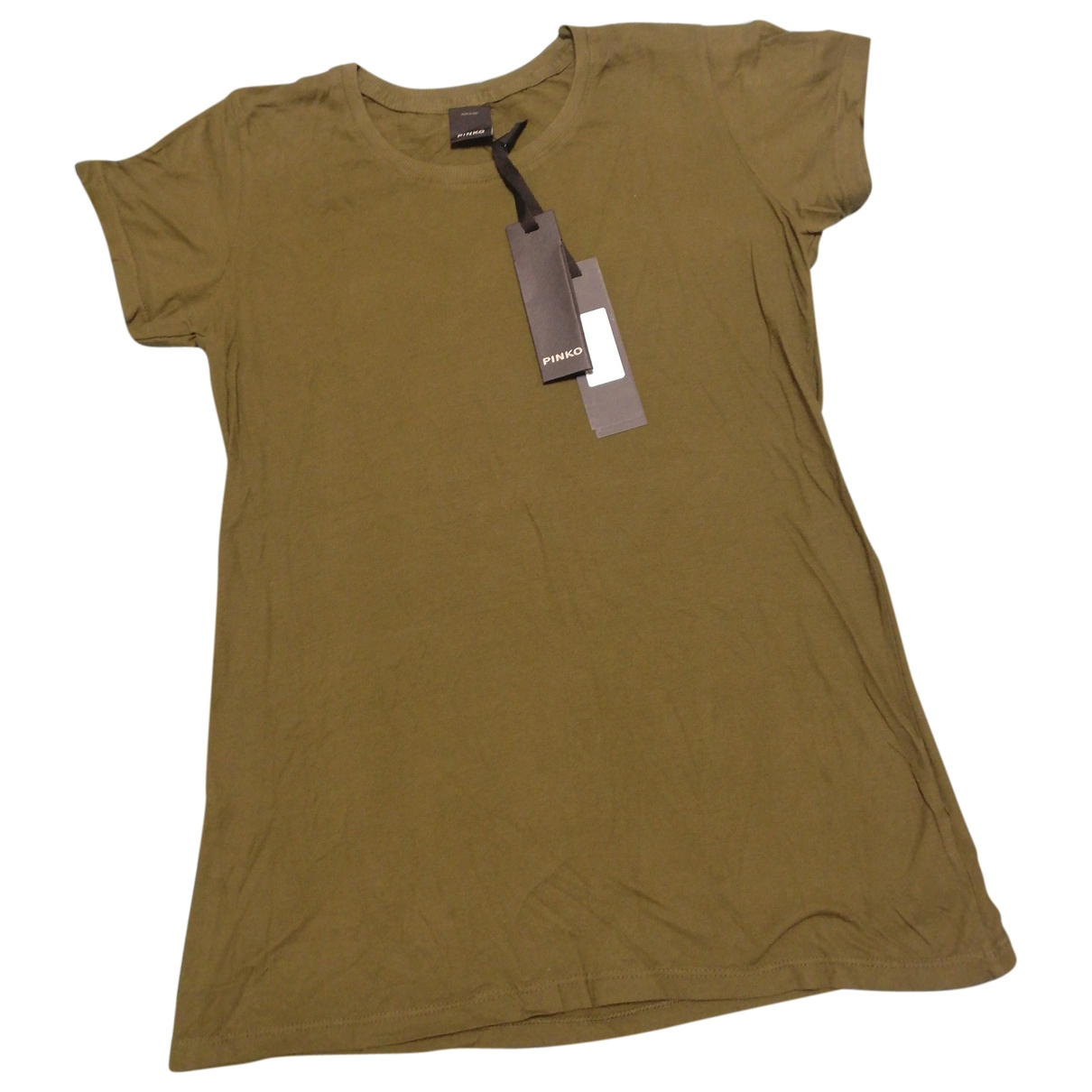 Pinko \N Green Cotton  top for Women M International