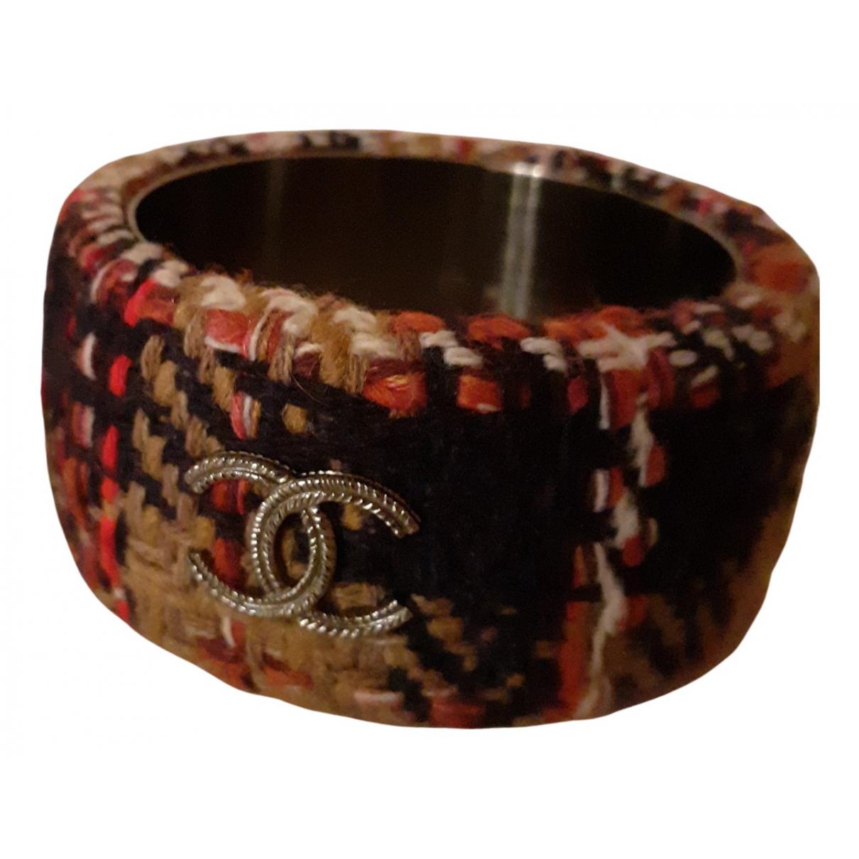 Chanel - Bracelet CC pour femme en acier - multicolore