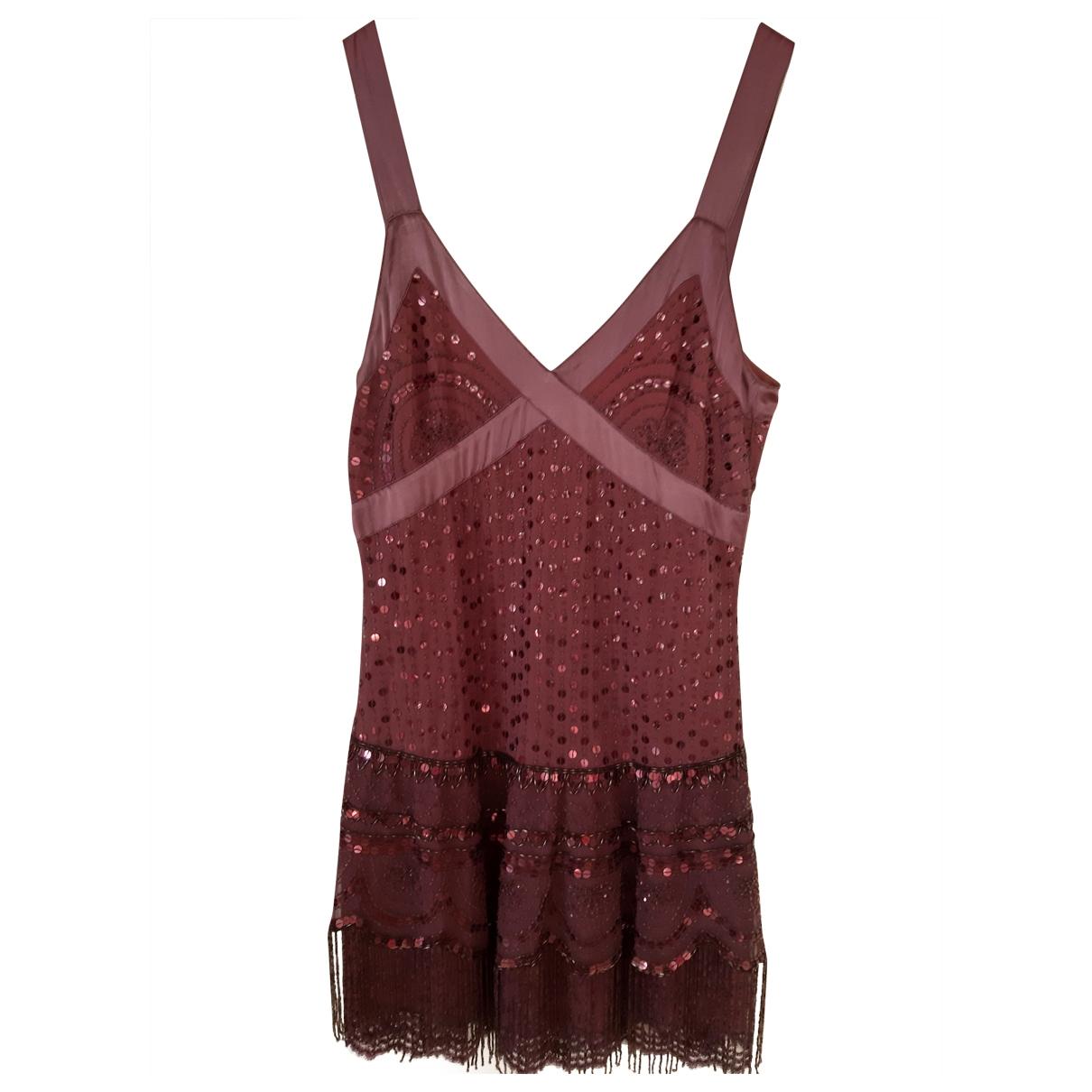 Pinko \N Kleid in  Lila Synthetik
