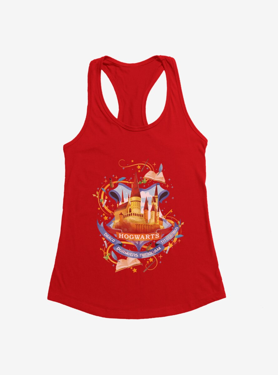 Harry Potter Hogwarts School Of Witchcraft And Wizardry Womens Tank