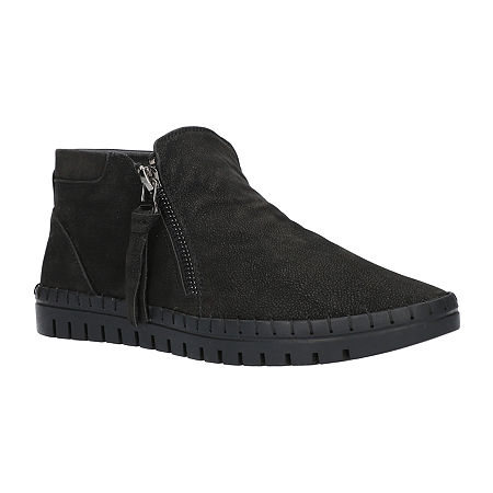Easy Street Womens Shalina Booties Flat Heel, 9 1/2 Medium, Black