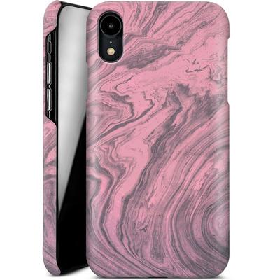 Apple iPhone XR Smartphone Huelle - Pink Marble von Emanuela Carratoni