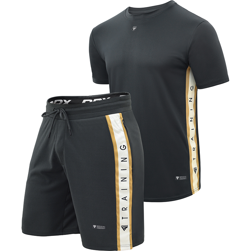 RDX T17 Aura Pack de Camiseta y Pantalones Cortos M