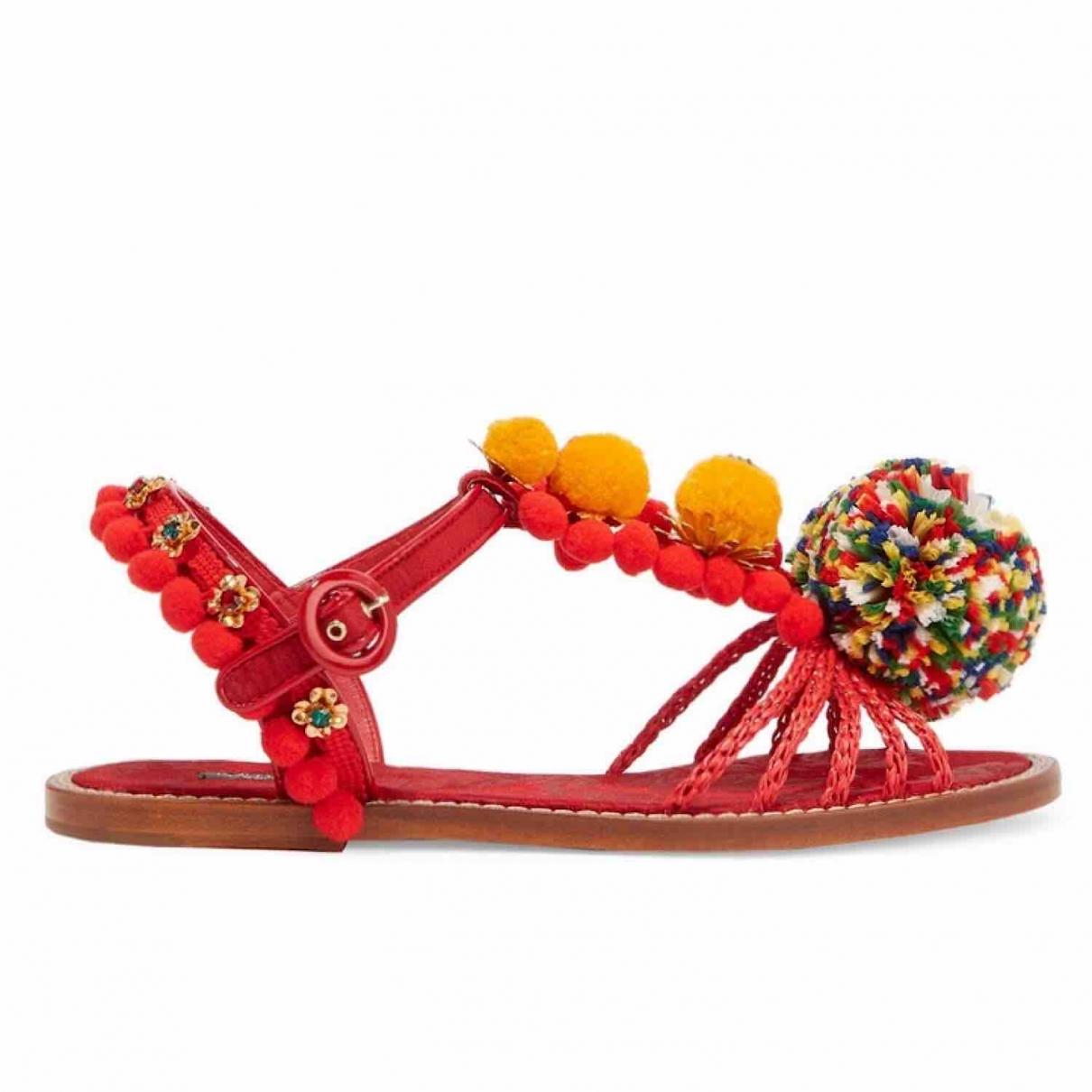 Dolce & Gabbana \N Multicolour Leather Sandals for Women 38 EU