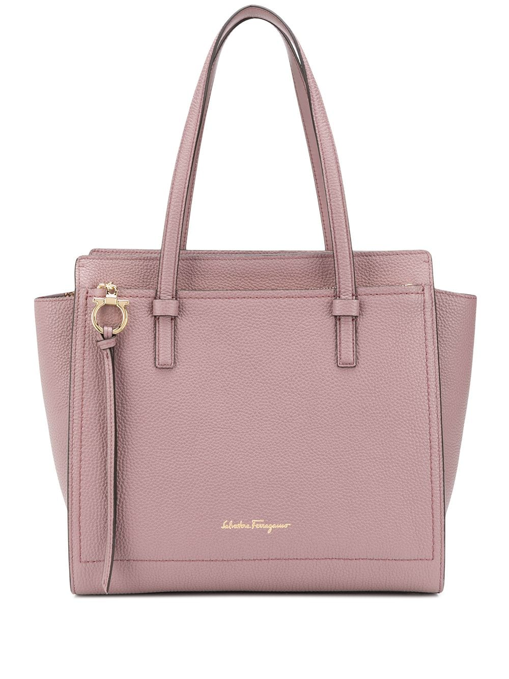 Amy Leather Shopping Bag
